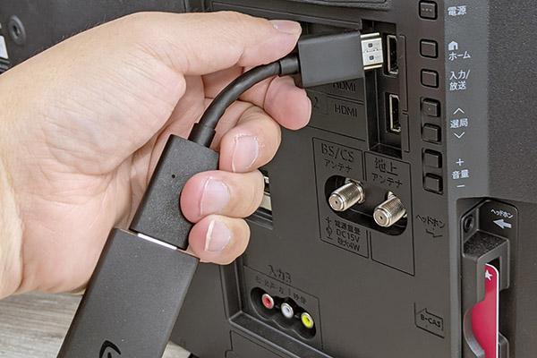 画像: HDMI延長ケーブルが付属。テレビのHDMI端子に直接接続しにくい場合などに使えるので、これはとても便利だ。熱対策として、ふだんから使ってもいいだろう。
