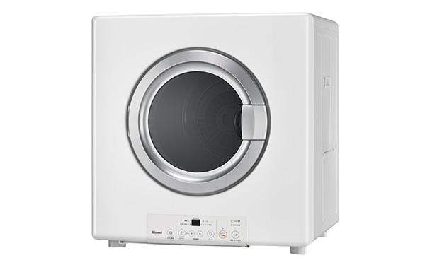 画像: 単体乾燥機の多くは洗濯機の上部に設置できる。パナソニックなどに電気式もあるが、リンナイのガス乾燥機「乾太くん」(写真)が人気だ。