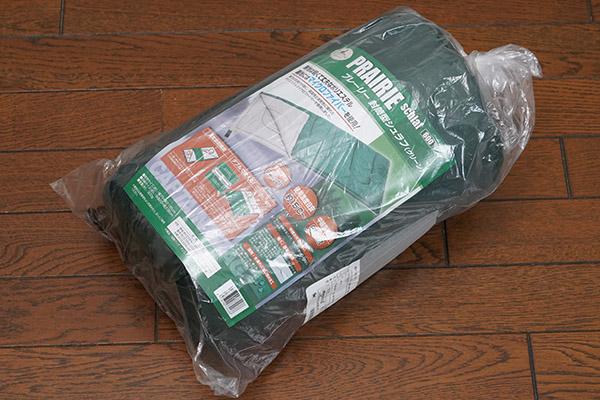 画像: 送料・税込972円で購入したCAPTIAN STAGの「プレーリー 封筒型シュラフ」です。写真の状態でAmazonから送られてきました。