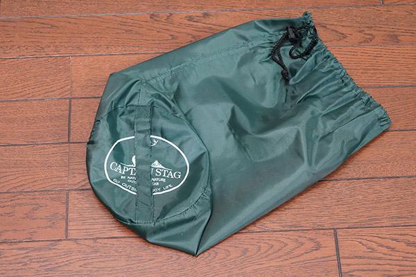 画像: 袋にはCAPTIAN STAGのロゴも印字されています。
