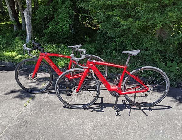 画像: 今回使用するスペシャライズドTURBOe-bikeシリーズの「CREO SL E5 COMP」。