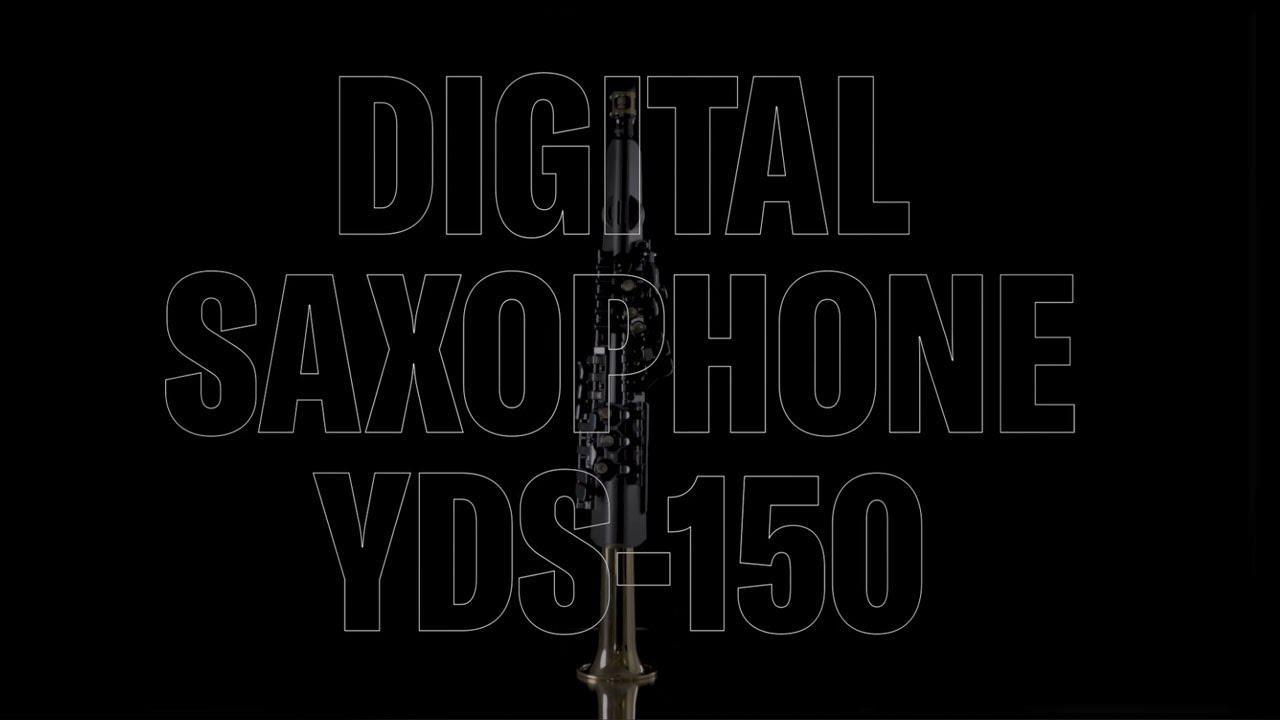 画像: Yamaha Digital Saxophone YDS-150 youtu.be