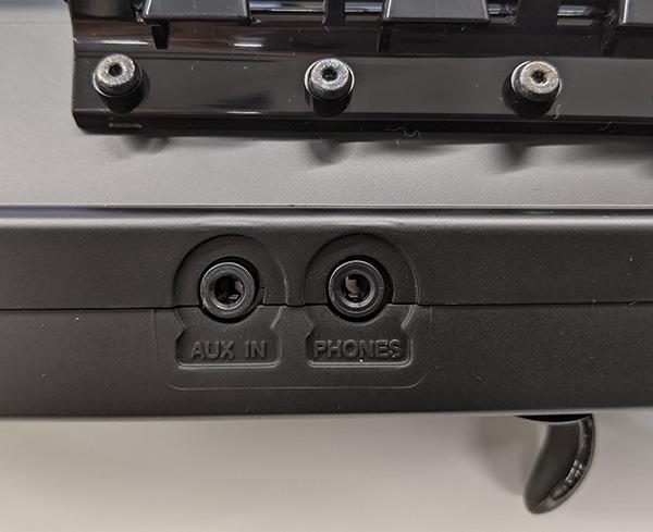 画像: イヤホンを接続すれば騒音問題も発生しない。