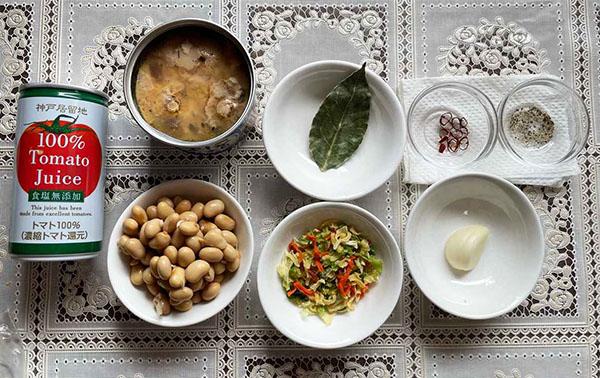画像: サバ缶は味噌煮・醤油煮でもOK(少し濃い味に仕上がる可能性あり)、鮭缶やツナ缶も◎