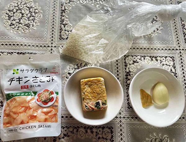 画像: 卵スープのだしを活用するので調味料は不要。