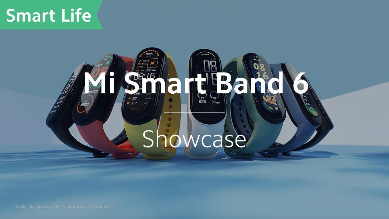 画像: Mi Smart Band 6: One Step Ahead! youtu.be
