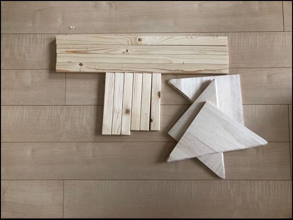画像: 購入したのは1X2材を3本とファルカタ材を1枚