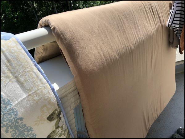 画像: 夫の布団は5年間1回も洗濯していません
