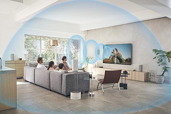 画像: ソニー「ブラビア」の一部機種と接続すれば、テレビのスピーカーをセンタースピーカーとして駆動させることができる。