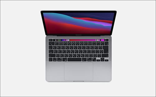 画像: 昨年のM1搭載MacBook Pro(13インチ) www.apple.com