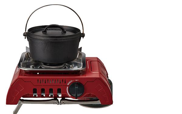 画像4: 大きめの調理器具が載せられるシングルバーナーがあると便利!