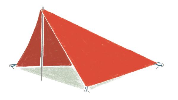 画像6: 自由な発想でタープを活躍させよう