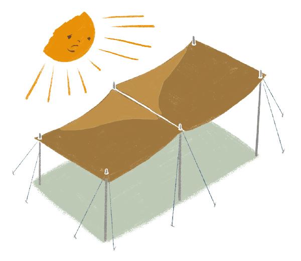 画像3: 自由な発想でタープを活躍させよう