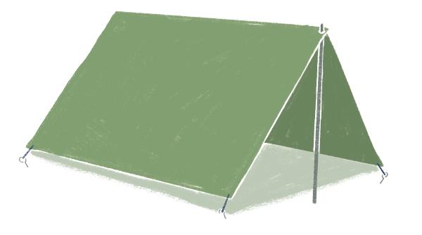 画像5: 自由な発想でタープを活躍させよう