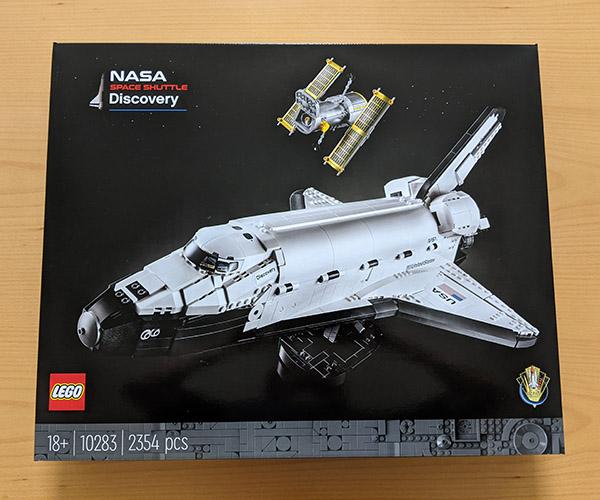 画像: 大人向けレゴセット「レゴ NASA スペースシャトル「ディスカバリー号」(2万1480円)。