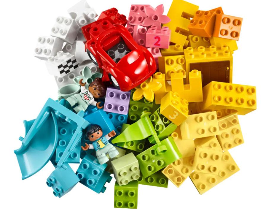 画像: 誰もが知っているレゴブロック。 www.lego.com