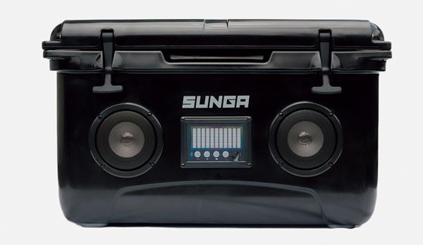 画像1: SUNGA Bluletoothスピーカー内蔵 クーラーボックス
