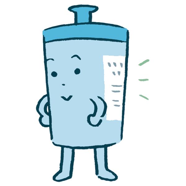 画像: ボトルの裏の表示をチェックし、中性を選ぶ