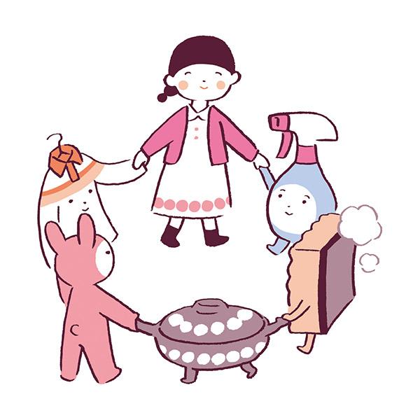 画像: 家事を習慣化する