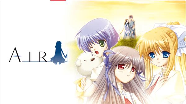 画像: 2021年9月9日に、Nintendo Switch版でリリースされた『AIR』 store-jp.nintendo.com