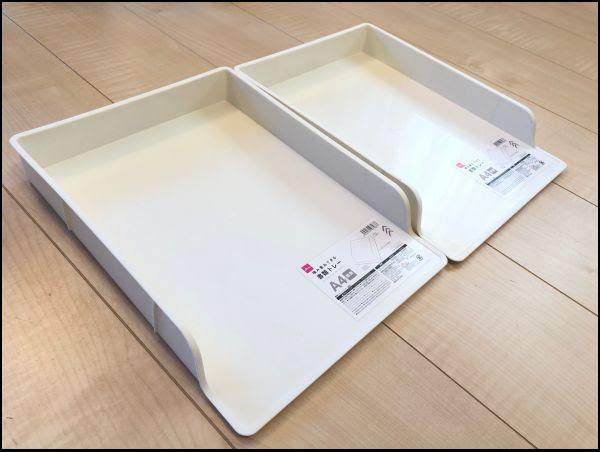画像: 「積み重ねできる書類トレー」を購入してきました
