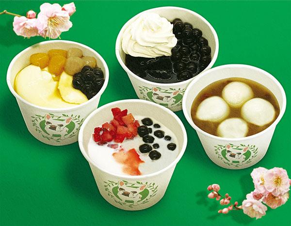 画像: 象徴的な「台湾スイーツ」一つ「豆花(トウファ)」は「Bull Pulu」の他に、これから直営店舗のスイーツとして定着させていく。