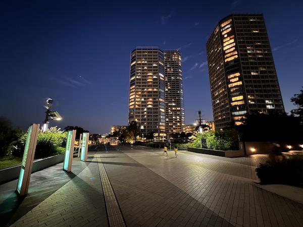 画像: iPhone 13 Proで撮った夜景