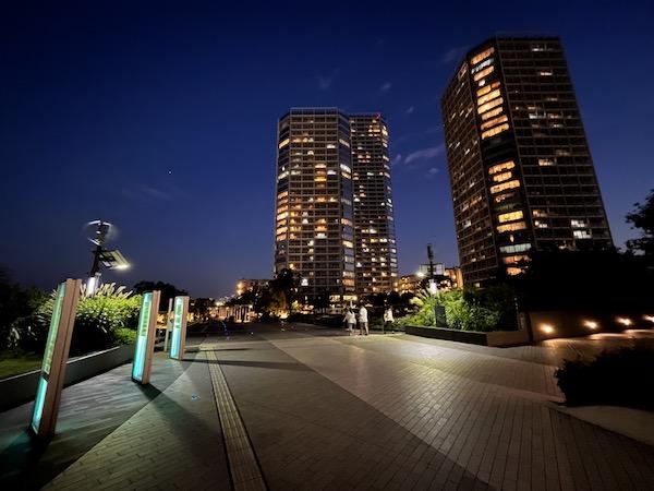 画像: iPhone 13で撮った夜景
