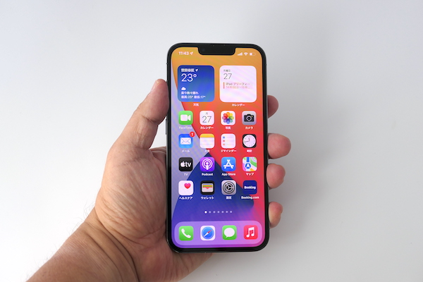 画像: iPhone 13 Proのサイズ感はiPhone 13と同等