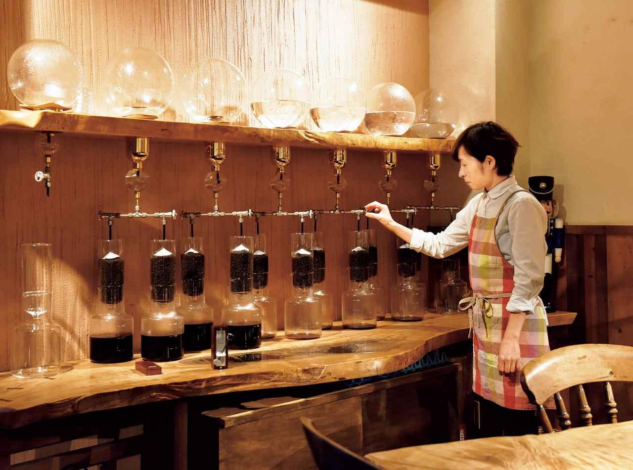 画像: 水出しコーヒーならではのクリアな味わいを楽しめる