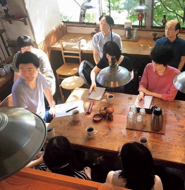画像: 日曜朝の「対話の場」