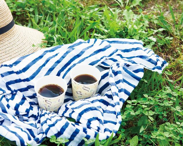 画像: 休憩時にはクルミドコーヒーのコーヒーで、ひと息