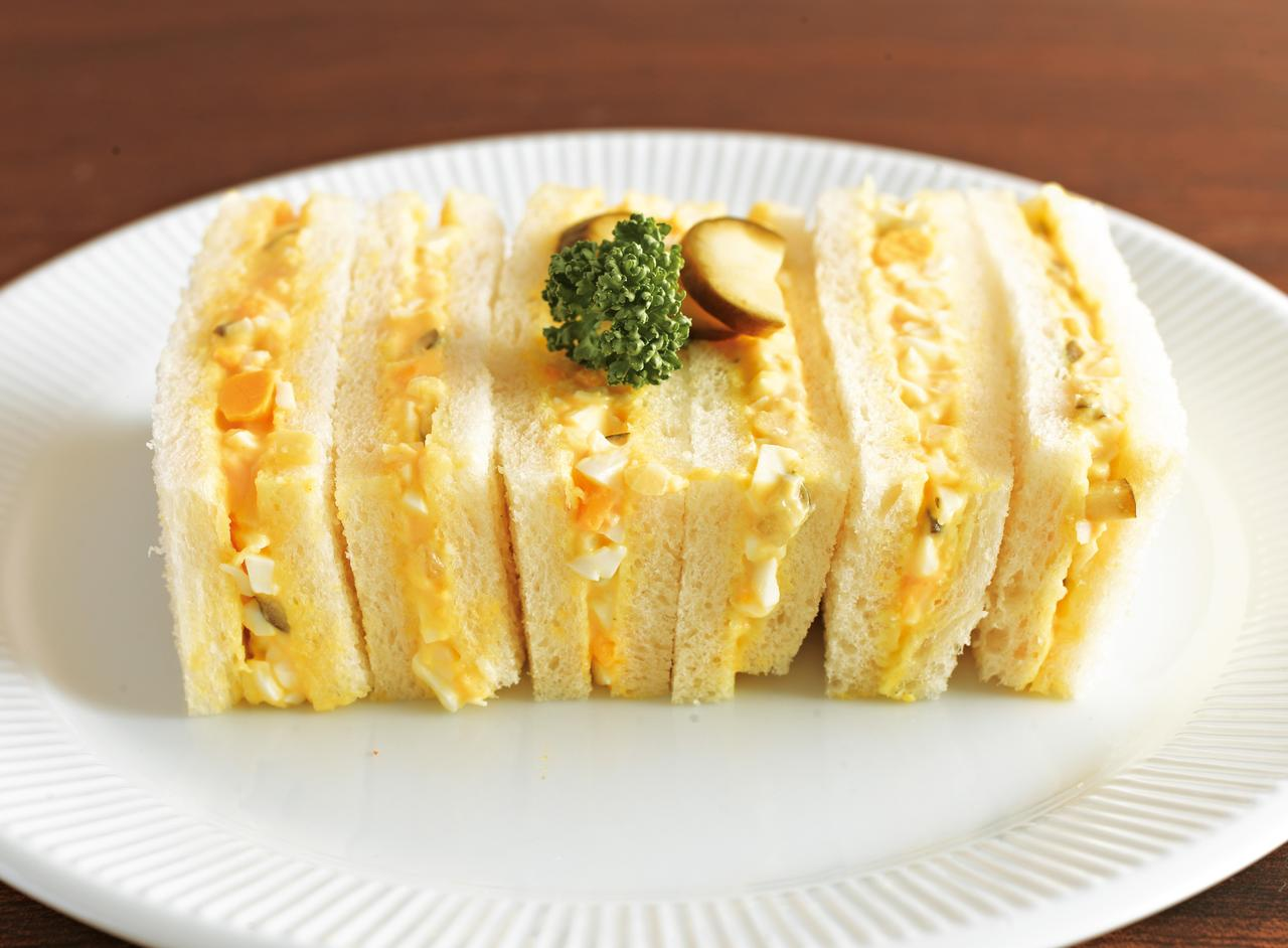 画像: 玉子サンド