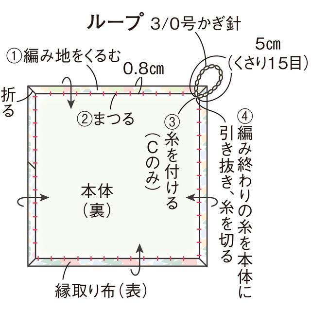 画像10: 編み方