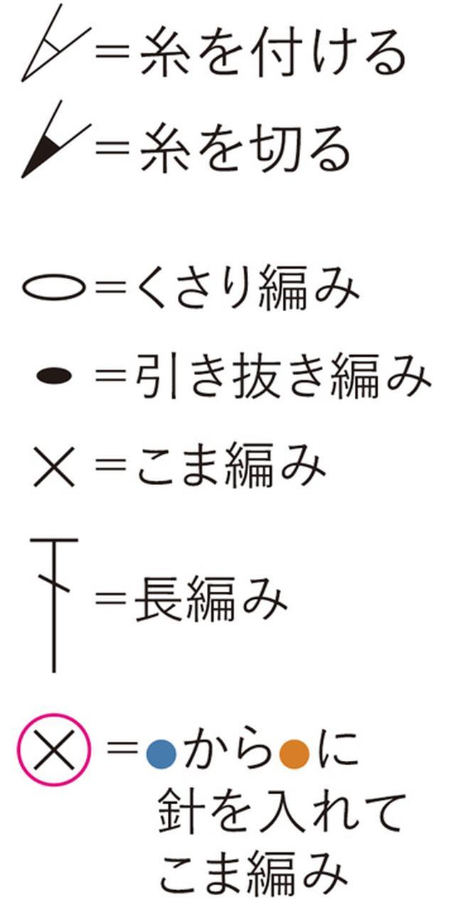 画像1: 本体の編み方図