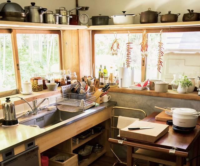 画像: 四季に寄り添う台所