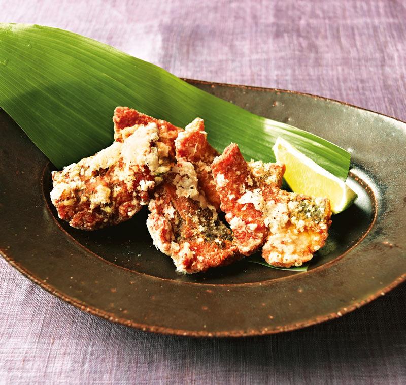 画像1: さばの竜田揚げ カレー風味