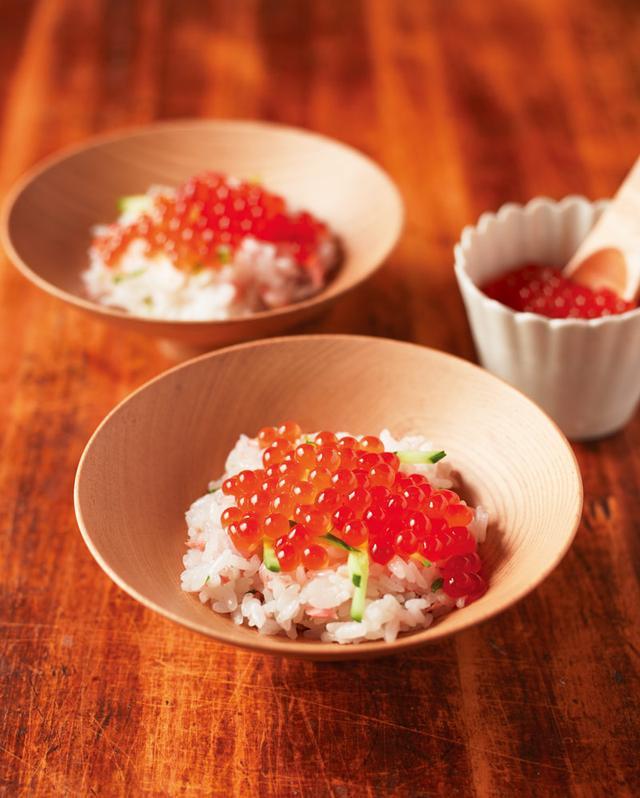 画像: 鮭の親子飯