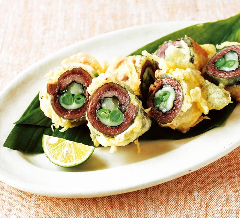 画像1: さんまのチーズ入り天ぷら