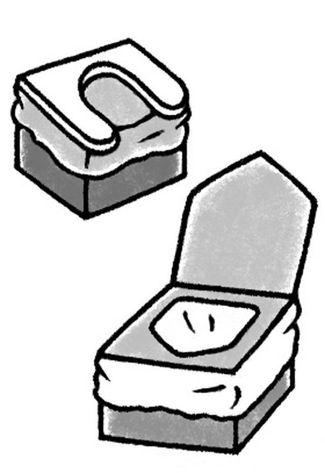 画像: 5 自宅避難生活中のトイレ対策は万全に