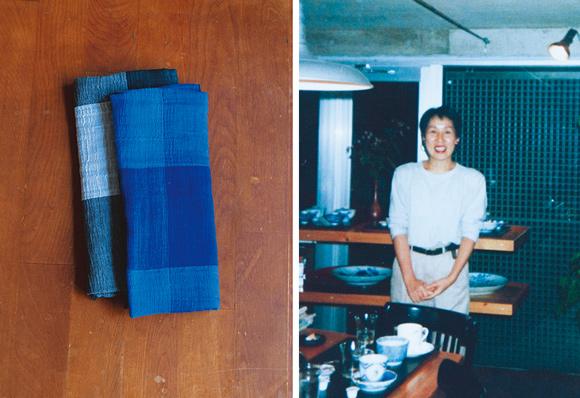 画像: 東京・六本木で買った「布」のストールはシンプルなスタイルのときに大活躍。ガーゼ風の生地で柔らかく、なじみもいい