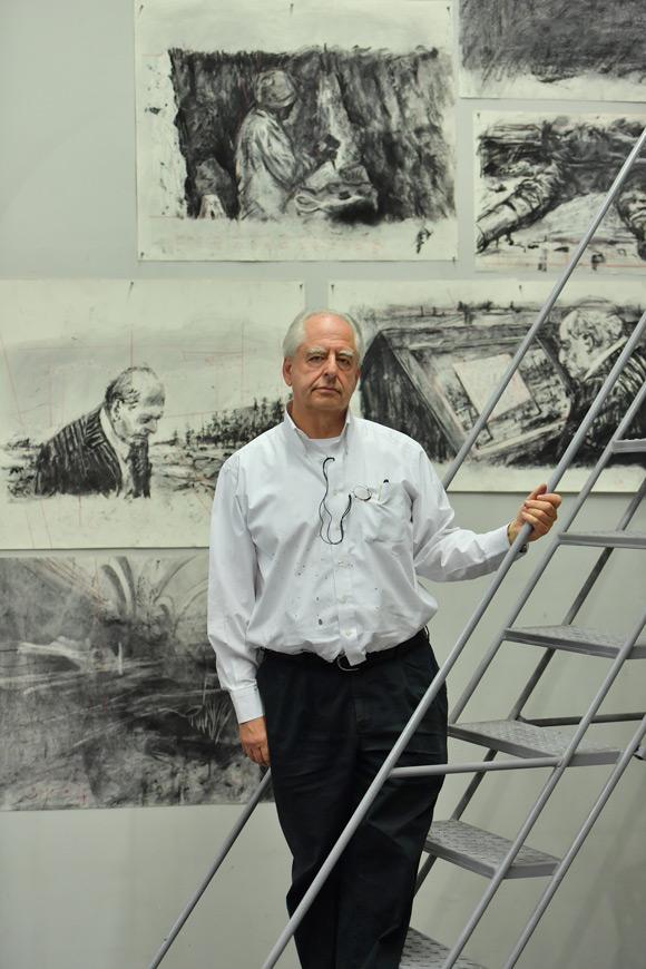 画像: ヨハネスブルグのアトリエにて 2019年 At his studio in Johannesburg, 2019
