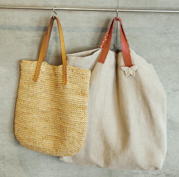 画像: バッグの持ち手を替える