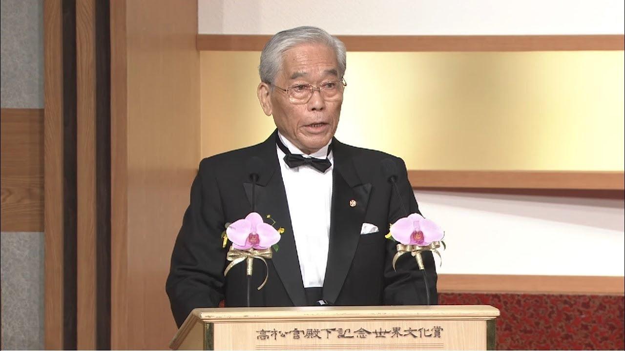 画像: 【Official Video】Remarks by Mr. Hisashi Hieda at the 2019 Awards Ceremony www.youtube.com