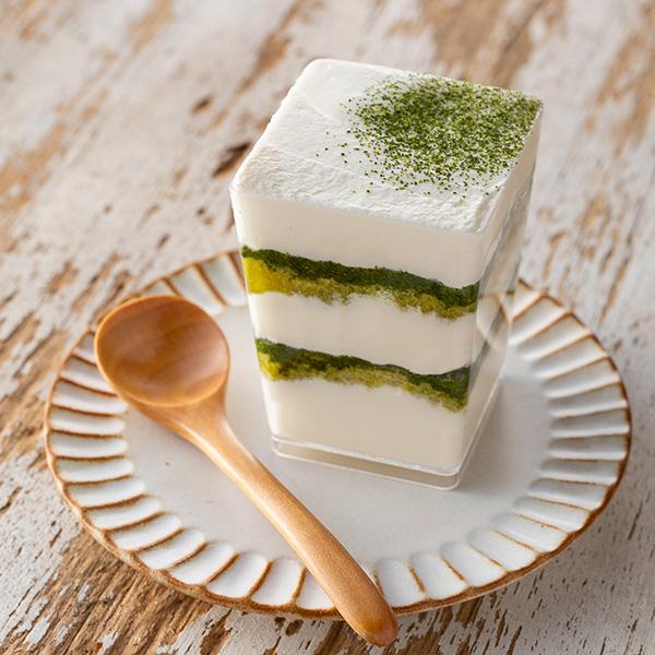 画像: お茶入りかんたんティラミス www.kai-group.com