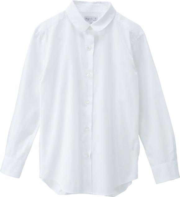 画像: 「アニエスベー」の衿が技ありシャツ