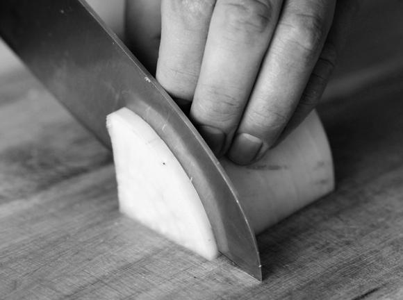 画像5: 大根の半月切り/いちょう切り