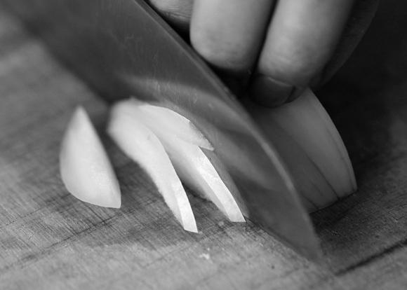 画像7: 玉ねぎの薄切り