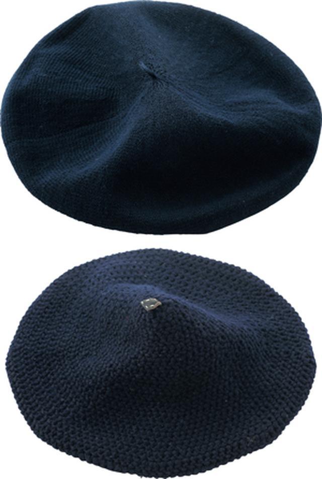 画像: 「カシラ」、「ユリ・パーク」のベレー帽