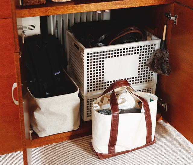 画像: バッグの収納は、バッグにおまかせ